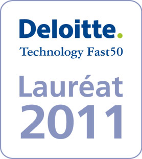 Deloitte Technology Fast 50 Lauréat 2011