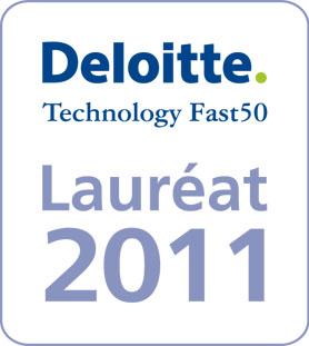 Deloitte Technology Fast 50 Lauréat 2011