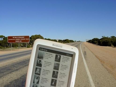 Cybook Opus Longest Road, Australia